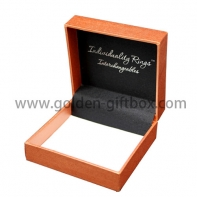 elegant jewelry paper gift box with hinged lid or cardboard gift box