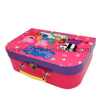 Mini suitcase children toy storage box,any cartoon pattern can be custom-made