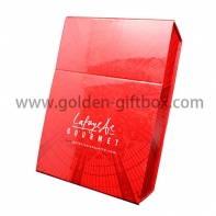 special design foldable box with display function