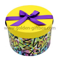 Lid & base round box birthday cake box wedding cake box hat box round flower box