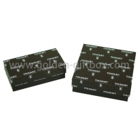 Black classic package square chocolate box