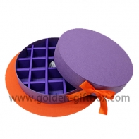 Custom Design purple products packing box