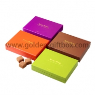 Simple design lid and wholesale printed plain paper box