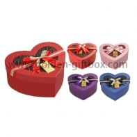 Valentine's Day Heart Shape Carboard Chocolate Gift Box