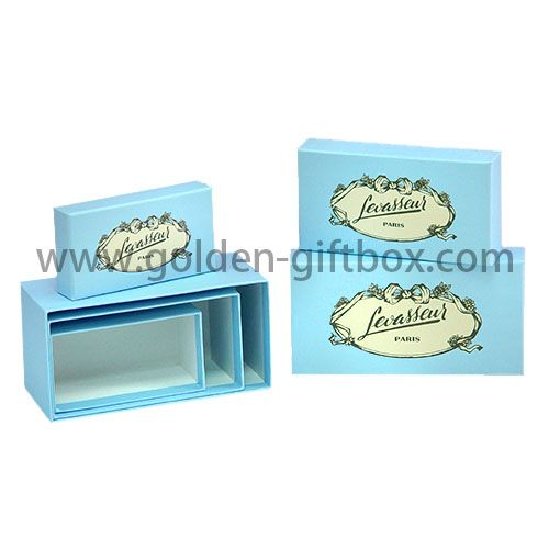 Tiffany blue wedding gifts box Clothing box