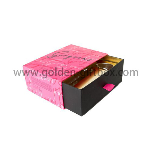 2 tone drawer box for gifts & premium & jewelry