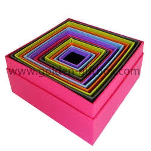 Beautiful Design Customized Luxury Nested Paper Boxes